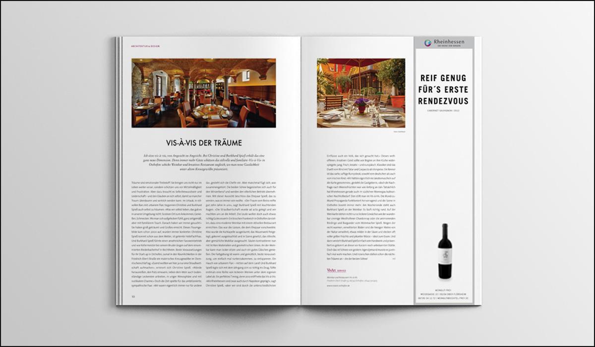 Weingut Frey – Corporate Design – Anzeigen Design