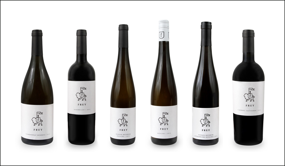 Weingut Frey – Corporate Design