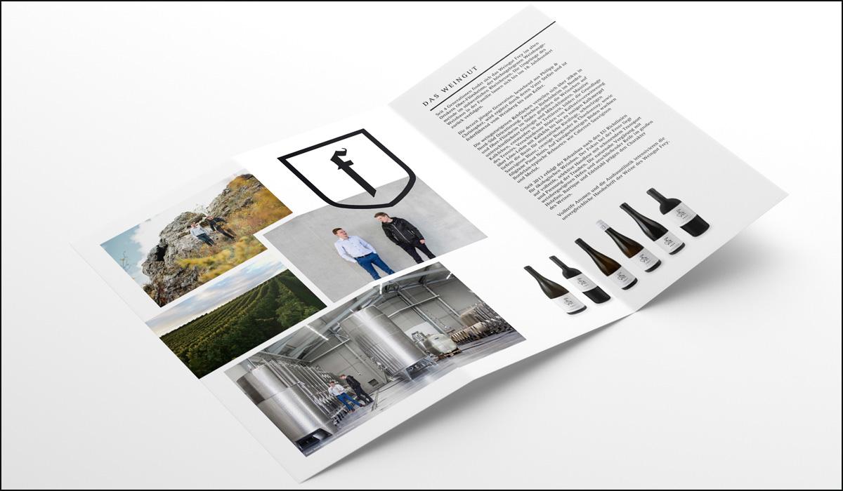 Weingut Frey – Corporate Design – Image Flyer